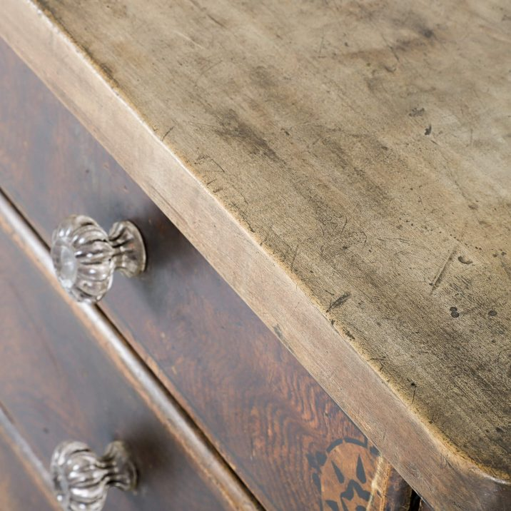 19th CENTURY PAINTED DRESSER 7 Cooling & Cooling