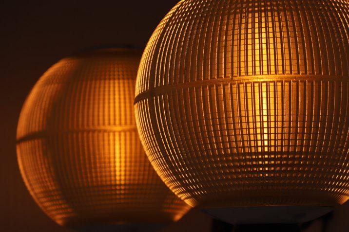 40CM HOLOPHANE GLOBE WALL LIGHTS 10 Cooling & Cooling