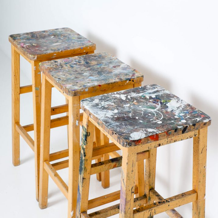 ARTIST HIGH STOOLS 3 Cooling & Cooling