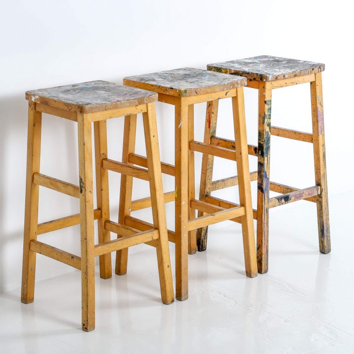 ARTIST HIGH STOOLS 4 Cooling & Cooling