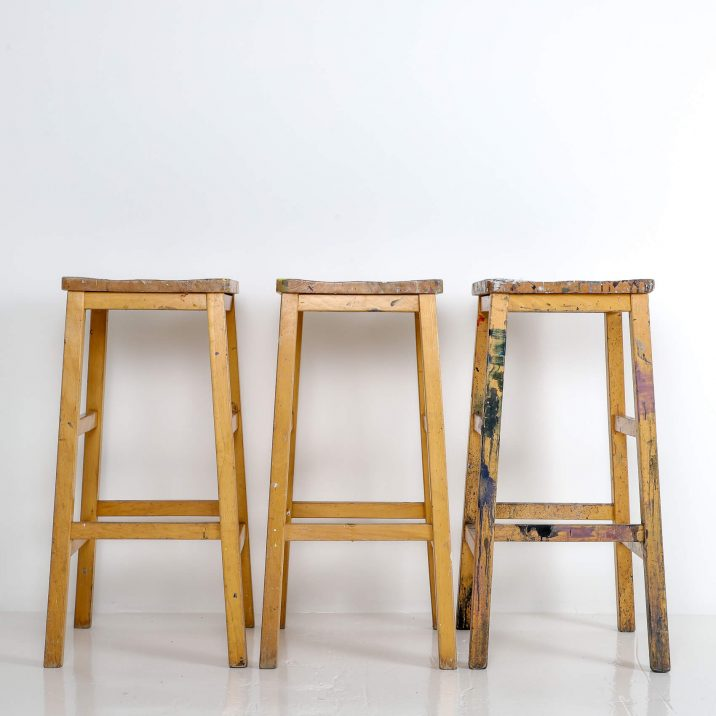 ARTIST HIGH STOOLS 8 Cooling & Cooling
