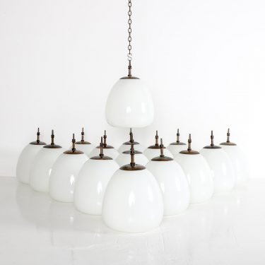 CHURCH OPALINE TULIP PENDANT LIGHT 1 Cooling & Cooling