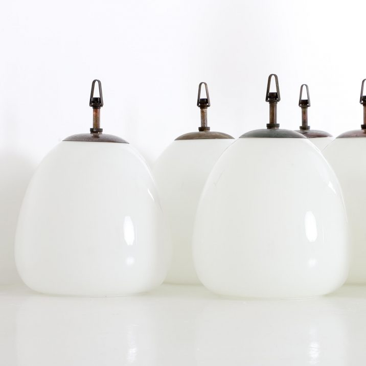 CHURCH OPALINE TULIP PENDANT LIGHT 5 Cooling & Cooling