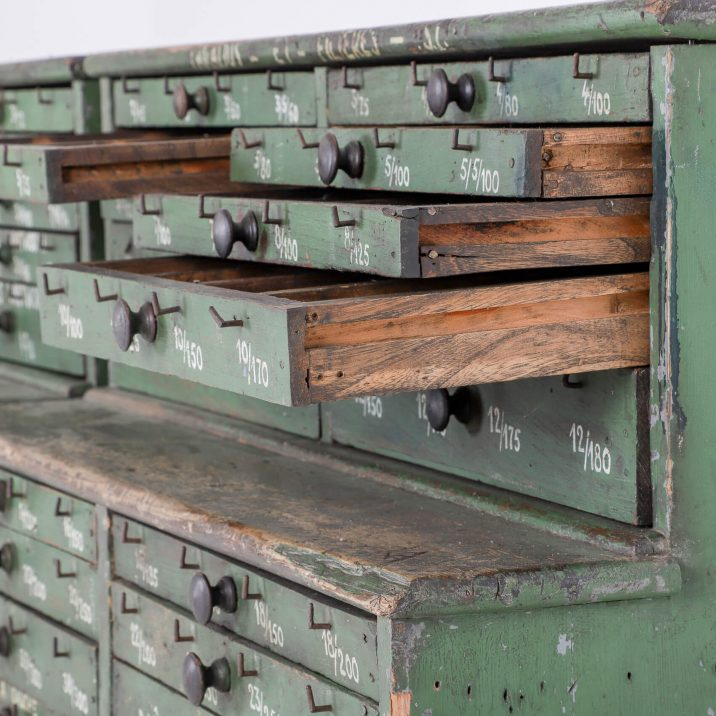 FRENCH WORKSHOP DRAWERS 11 Cooling & Cooling