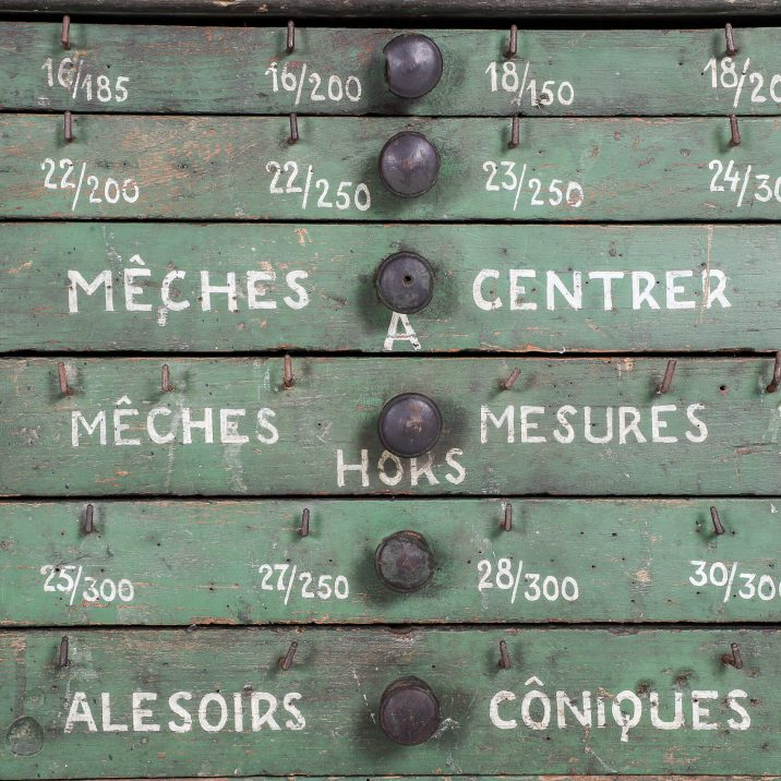 FRENCH WORKSHOP DRAWERS 14 Cooling & Cooling