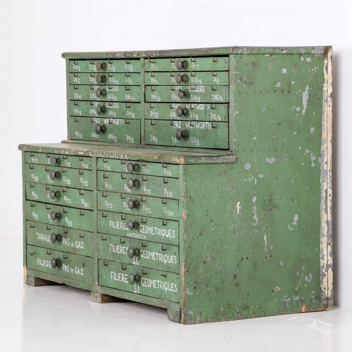 FRENCH WORKSHOP DRAWERS 18 Cooling & Cooling