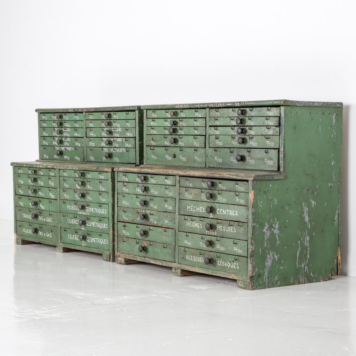FRENCH WORKSHOP DRAWERS 19 Cooling & Cooling