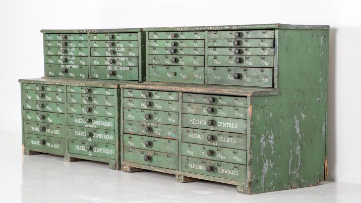 FRENCH WORKSHOP DRAWERS 5 Cooling & Cooling