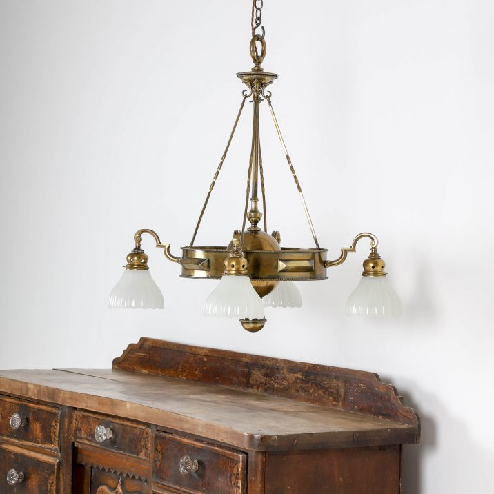 JEFFERSON CO. MOONSTONE CHANDELIER 11 Cooling & Cooling