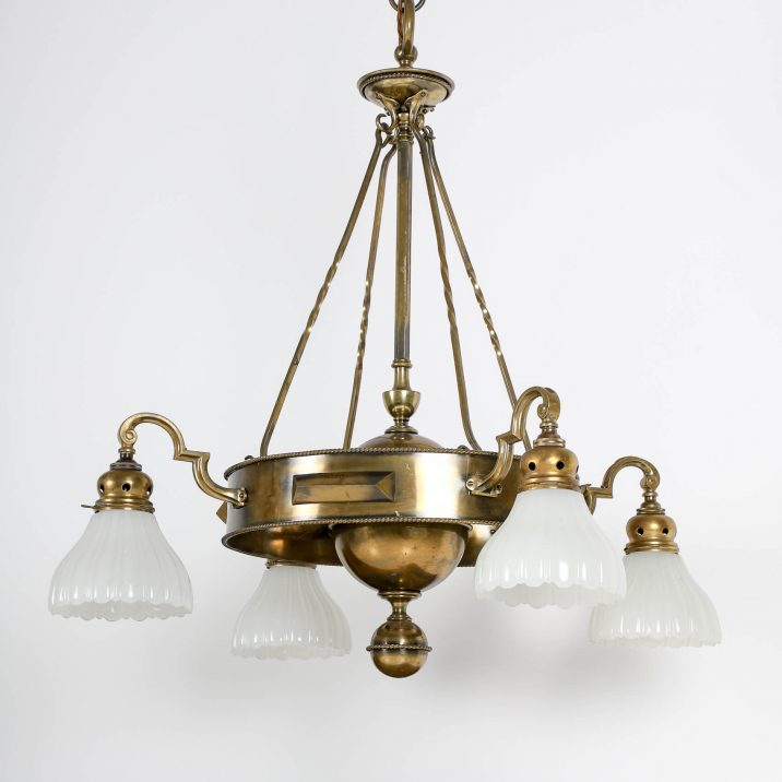 JEFFERSON CO. MOONSTONE CHANDELIER 3 Cooling & Cooling