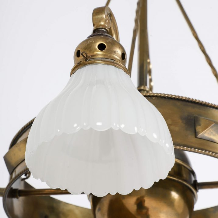 JEFFERSON CO. MOONSTONE CHANDELIER 5 Cooling & Cooling