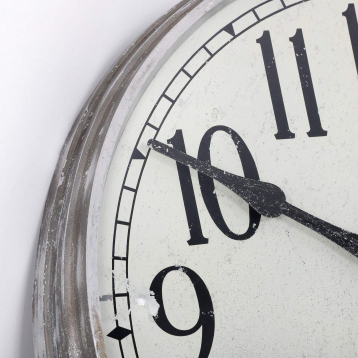 LARGE 28″ METAL INTERNATIONAL TIME RECORDINGS WALL CLOCK 2 Cooling & Cooling