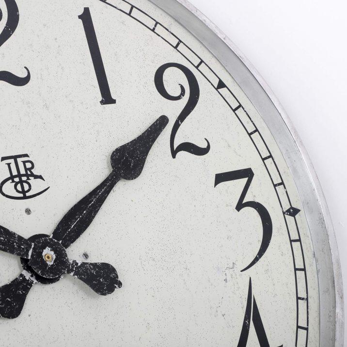 LARGE 28″ METAL INTERNATIONAL TIME RECORDINGS WALL CLOCK 3 Cooling & Cooling