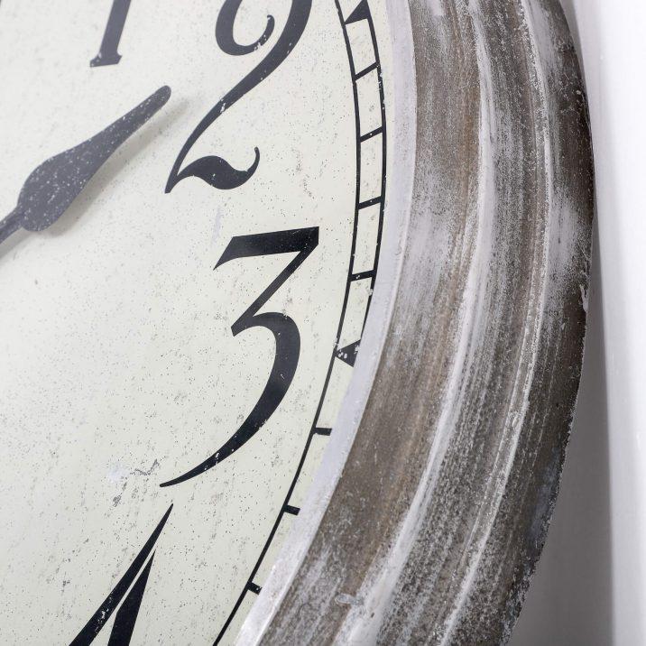 LARGE 28″ METAL INTERNATIONAL TIME RECORDINGS WALL CLOCK 5 Cooling & Cooling