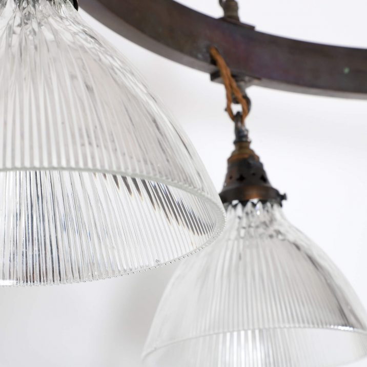 XL HOLOPHANE CHURCH CHANDELIER 5 Cooling & Cooling
