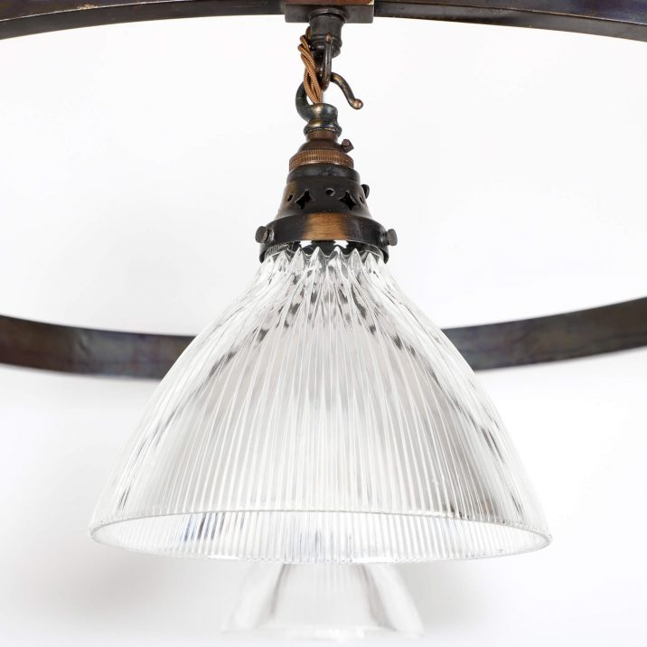 XL HOLOPHANE CHURCH CHANDELIER 8 Cooling & Cooling