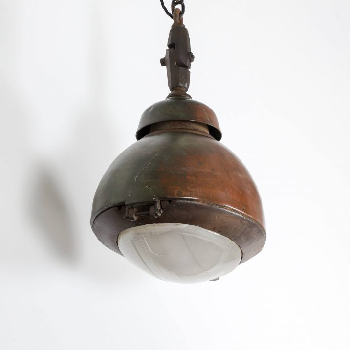 INDUSTRIAL COPPER TRAIN STATION LIGHT 4 Cooling & Cooling