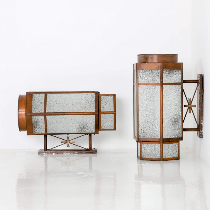 ART DECO THEATRE WALL LIGHTS 2 Cooling & Cooling