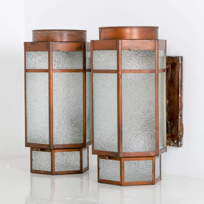 ART DECO THEATRE WALL LIGHTS 5 Cooling & Cooling