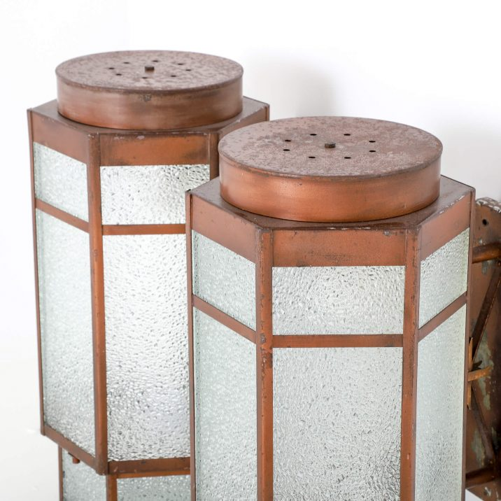 ART DECO THEATRE WALL LIGHTS 6 Cooling & Cooling