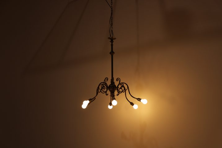 SIX ARM GAS CHANDELIER 11 Cooling & Cooling