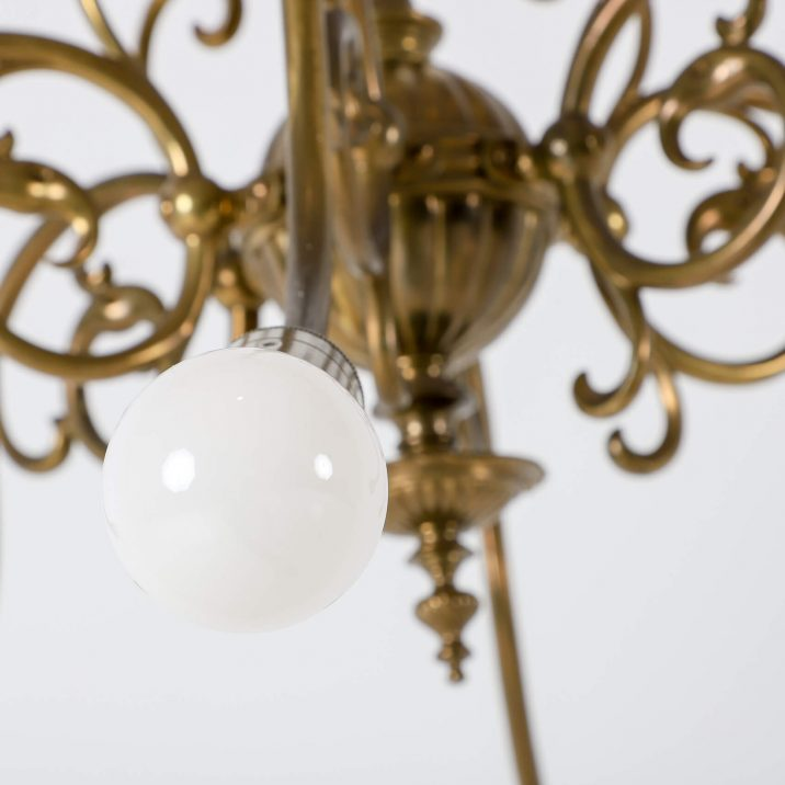 SIX ARM GAS CHANDELIER 7 Cooling & Cooling