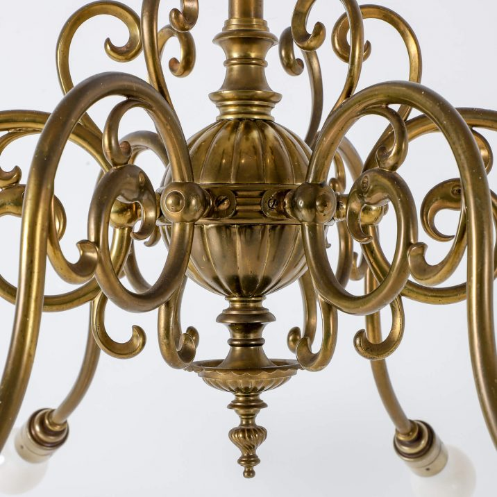 SIX ARM GAS CHANDELIER 8 Cooling & Cooling
