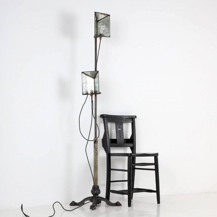 VICTORIAN PHOTOGRAPHIC LAMP STAND 2 Cooling & Cooling